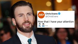 You saw Chris Evans' dick pic? Well, he finally responded.
