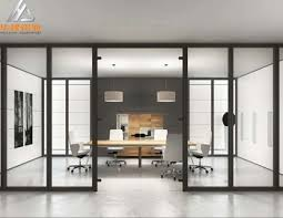 office partition with door. Single Glass Wall Aluminium Office Partition,Frameless Glass Partitions,Commercial  Framing Office Partition Partition With Door