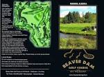 Course Scorecard - Beaver Dam Golf Course
