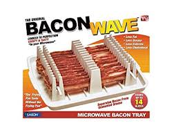 Emson Bacon Wave Microwave Bacon Cooker New