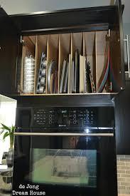Kitchen Pan Storage Over Oven Storagejpg