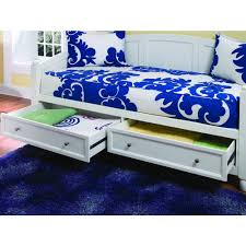 Naples Bedroom Furniture Home Styles Naples White Storage Day Bed 5530 85 The Home Depot