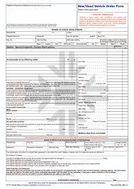 Vehicle Order Form RMI24P New Used Vehicle Order Form Pad RMI Webshop 1