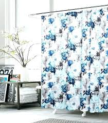 cubs shower curtain large size of set bright blue chicago curtains bedroom