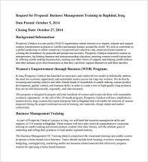 Free 10 Sales Training Proposal Template Pdf