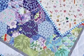 Saltwater Quilts: Happy Hexagon Baby Quilt & Happy Hexagon Baby Quilt Adamdwight.com