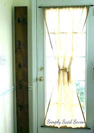 wondrous hanging curtains over french doors home design curtain door rods portiere curtains over sliding glass door