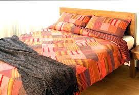 burnt orange duvet cover king size bedding sets and nice looking