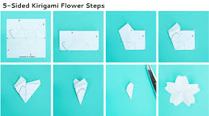 Paper Folded Flower A Paper Flower For Kids To Make Magical Water Blossoms
