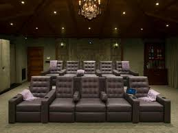theatre room lighting. Media Room Furniture. Hollywood Comfort. Home Theater Seating Furniture Hgtv.com Theatre Lighting S