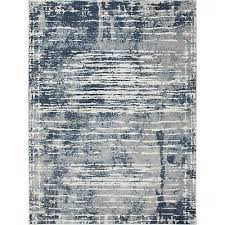 kenmare blue distressed area rug by nicole miller 7 9 x10 2