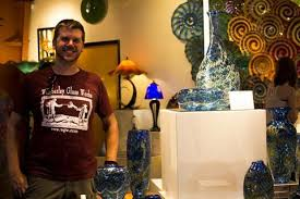 Wimberley Glassworks Latest Blown Glass Collection Dragon Scale