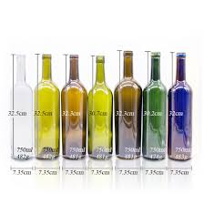 High Quality 750ml Round Shape Custom Luxury Frosted Clear Whisky ...