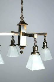 mission style chandelier light fixtures or medium