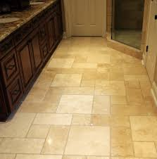 Travertine Kitchen Floor Tiles Bathroom Flooring Tile Ideas Zampco