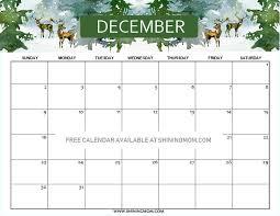 Free Printable December 2018 Calendar 14 Beautiful Designs Best