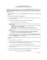 Partnership Agreement Between Companies 40 Free Partnership Agreement Templates Business General