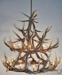 antler chandeliers deer chandelier lamps chandeliers for with regard to antler chandelier