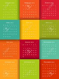 Calendar Format 2015 Vector Illustration Of 2015 Calendar Template Sunday To Saturady