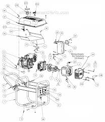 wiring diagram for coleman generator wiring image powermate pm0433500 parts list and diagram ereplacementparts com on wiring diagram for coleman generator
