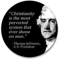Thomas Jefferson Christianity Quote