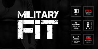 Military Workout Chart Military Fit