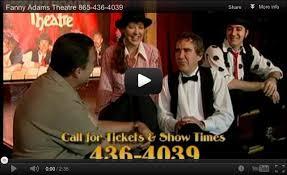 Gatlinburg Shows | <b>Sweet Fanny</b> Adams Theatre | Musical Comedy