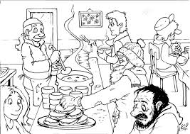 Small Picture Coloring page soup kitchen img 26986