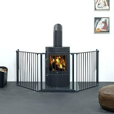 fireplace guard baby fireplace guard for es extra large flex hearth gate new fire guard black