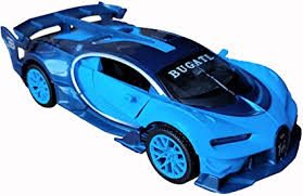 Bugatti tells us this vision gt previews the next generation of bugatti's design language. Amazon Com Lmoy 1 32 Scale Bugatti Chiron Vision Grand Turismo Gt Zinc Alloy Pull Back Diecast Toy Car Model Collection With Light Sound Blue Toys Games