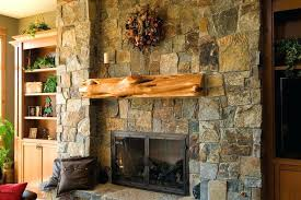 rustic stone fireplace interior fireplaces with framed picture candle mantels13 mantels