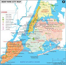 download map showing new york  major tourist attractions maps