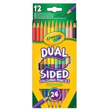 Crayola Crayons De Couleur Dual Sided 12 Crayons Houra Fr
