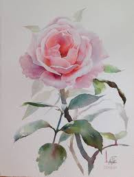 watercolor without drawing by lafe watercolor flowers tutorialwatercolour flowerswatercolor paintingswatercolor