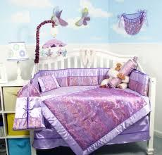 bedding sets soho designs image lavender silky erflies baby crib nursery bedding set 10 pcs