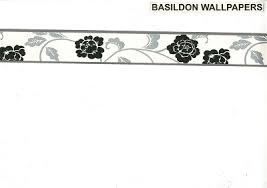 Flower Wall Paper Border Floral Borders Wallpapers And Borders To Buy Online