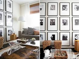 charming ideas decorating a large wall with high ceiling on budget tv picture frames around