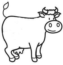 Kleurplaat Koe Farm Animals Farm Crafts Farm Theme En Farm Animals