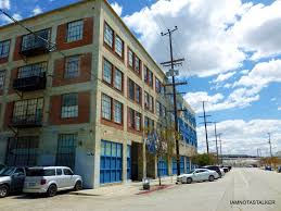 The New Girl Apartment Building IAMNOTASTALKER - Warehouse loft apartment exterior