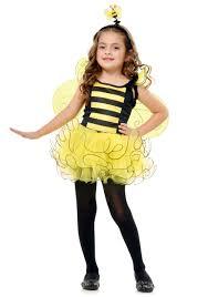 Girl in bee suit