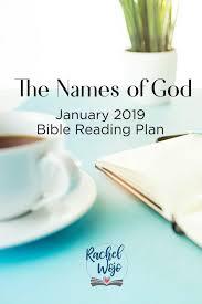January 2019 Bible Reading Plan Rachelwojo Com
