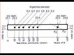 Renaissance Flute Tenor Dimensions