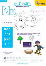 This worksheet lists words for students to rewrite and remember. Jolly Phonics Learnme