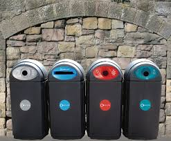 eco bin outdoor recycling bins