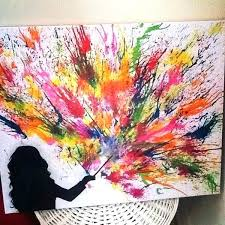 picturesque sponge painting ideas sponge painting ideas and fireworks fantastic melted crayon art sponge painting sponge picturesque sponge painting