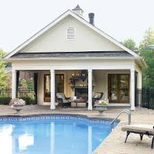 pool house plans with living quarters. Fine Living Poolside Escapes Throughout Pool House Plans With Living Quarters