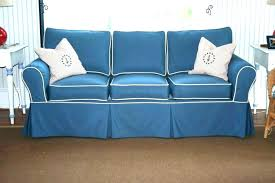 navy blue couch s slips sectional living room with white piping sofa ideas