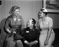 Madison Visiting Nurse Service Luncheon | Photograph | Wisconsin Historical  Society