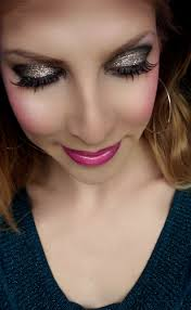 1970 s party disco glam makeup