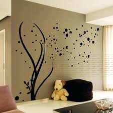 decorative wall art decals buy acrylic family tree wall stickers living buy  acrylic family tree wall